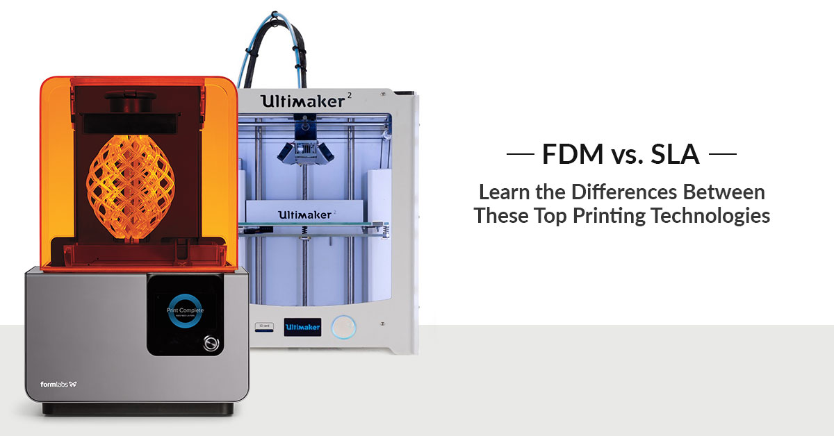 FDM vs SLA: How does 3D Printing Technology Work?
