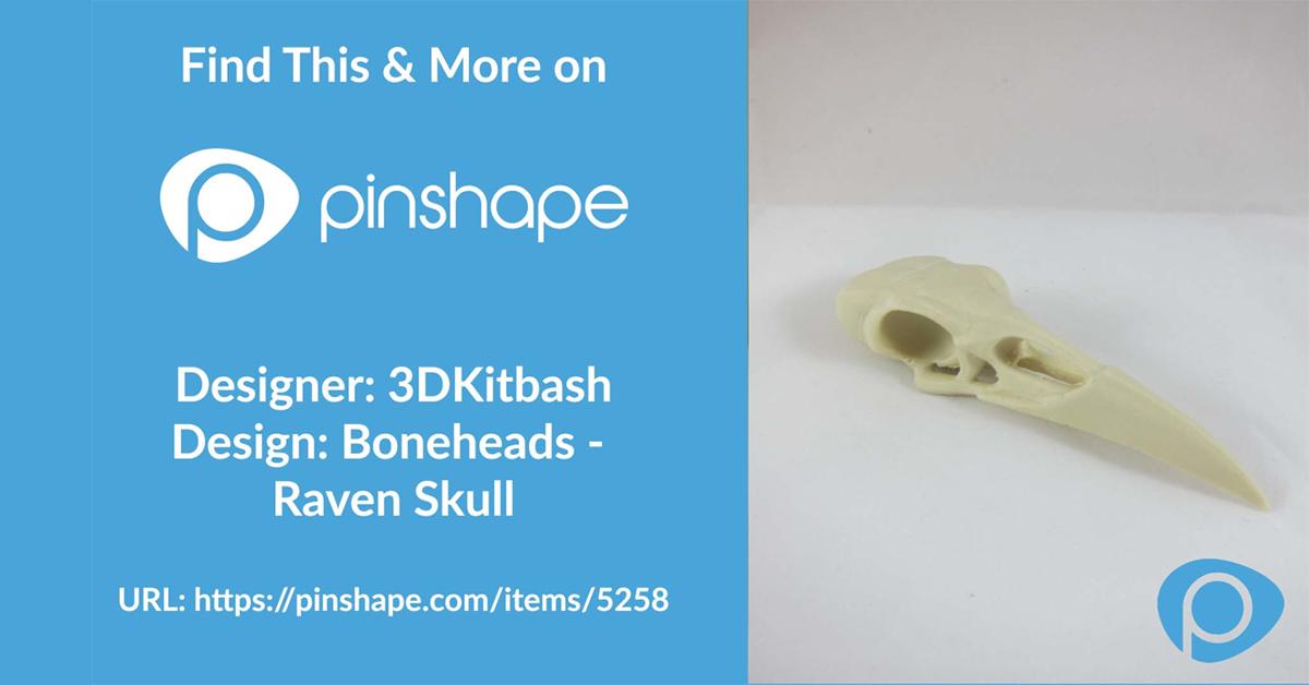 Timelapse Tuesdays: Boneheads – Raven Skull