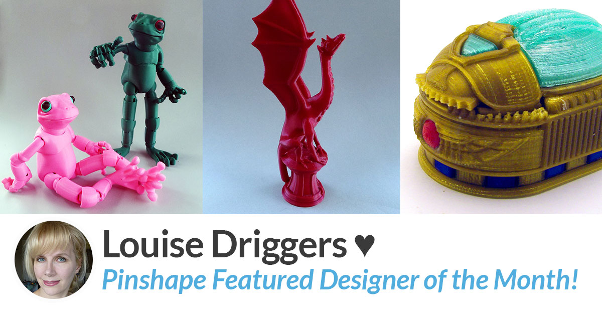 Designer of the Month: Louise Driggers