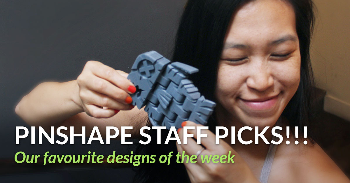 Pinshape Staff Picks of the Week for June 18th!