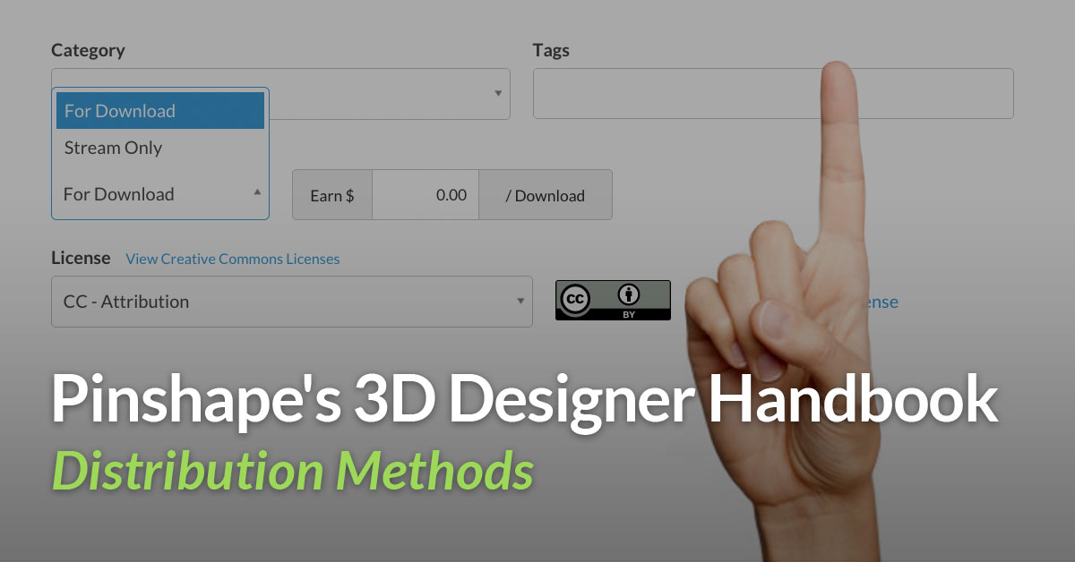 How to distribute your 3D printing models!