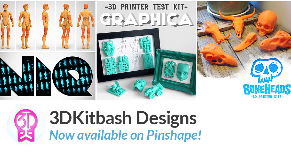 Featured Designer of the Month: 3DKitbash!