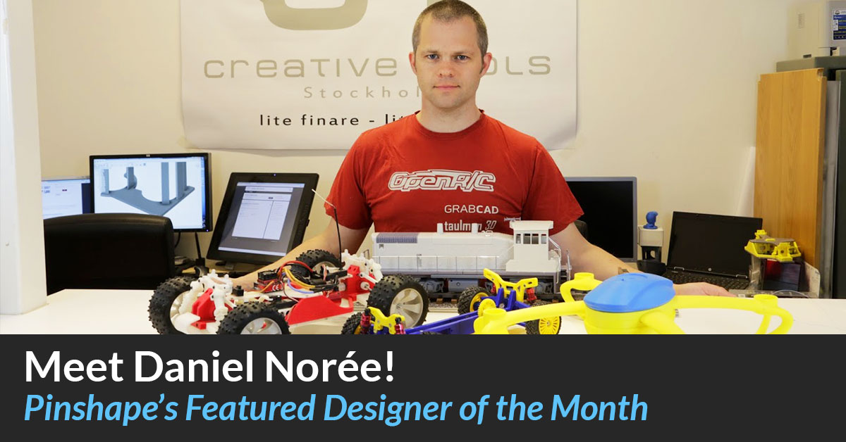 Designer of the Month: Daniel Norée