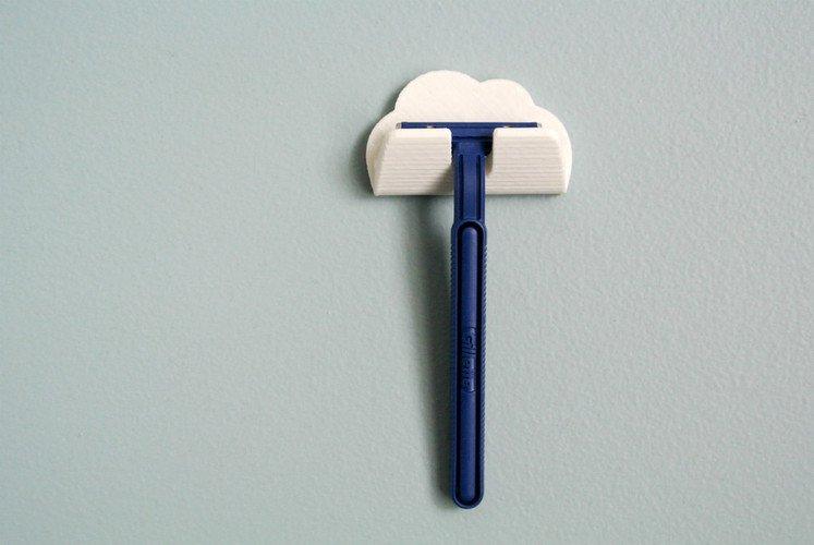razor holder walltosh pinshape