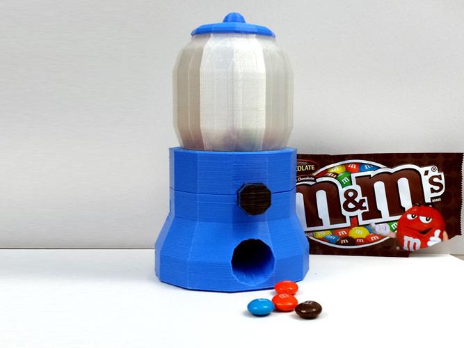 mini candy machine 3d printed tanya wiesner pinshape