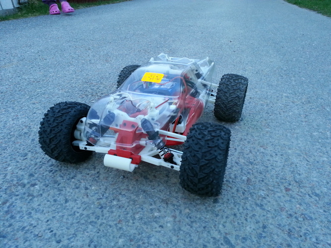 open rc truggy concept staff picks pinshape best things to 3d print