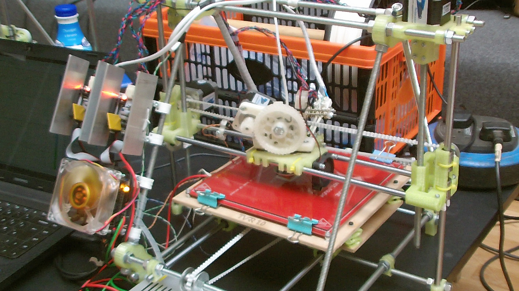 reprap pinshape What is 3D printing