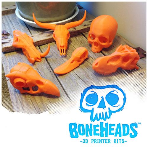 boneheads set 1 3dkitbash pinshape