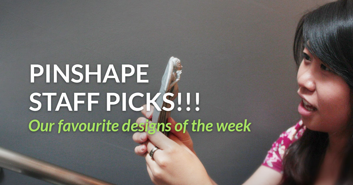 Best 3D Printing Designs on Pinshape week of Feb 26th
