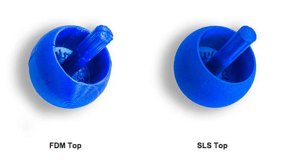 Fdm top SLS top sculpteo pinshape