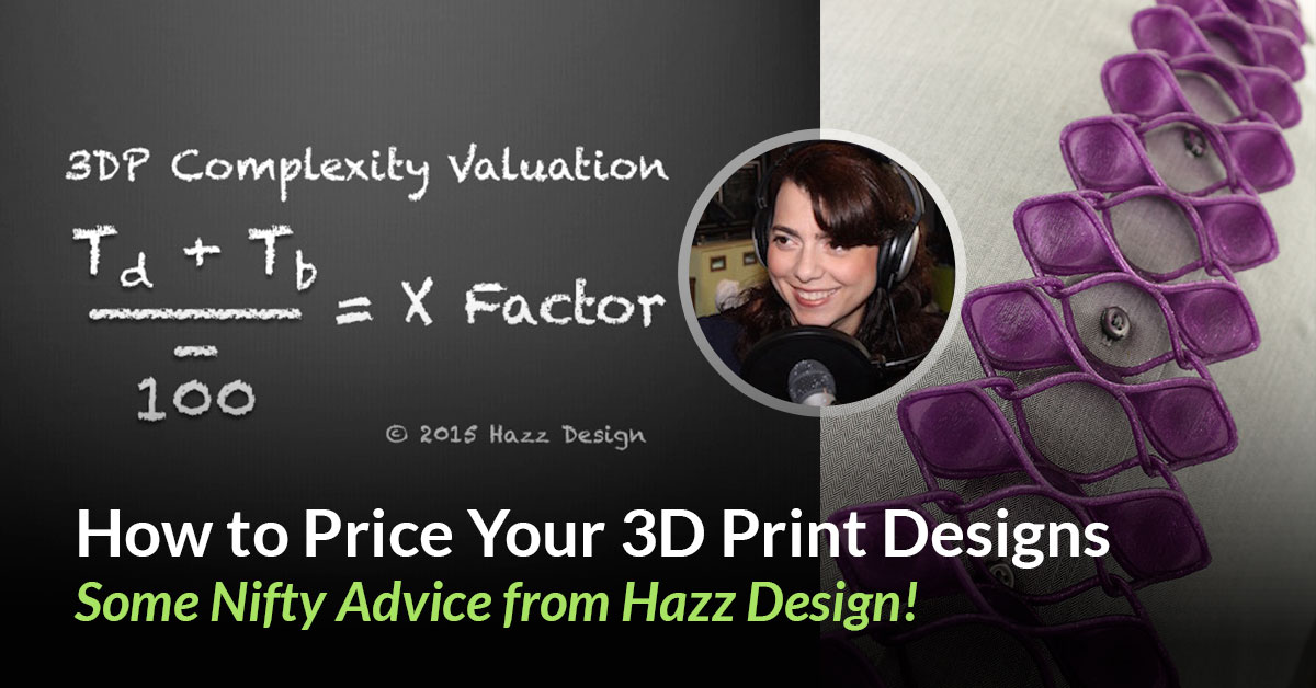 Accounting for Design – Pricing 3D Print Designs