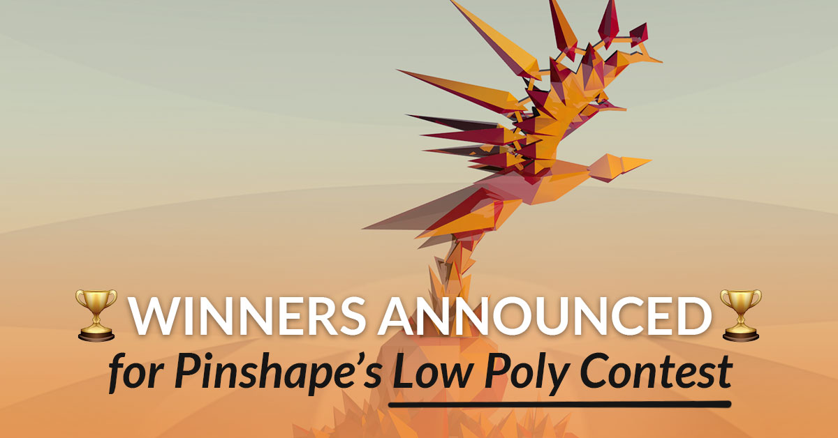 WINNERS: Pinshape Low Poly Design Contest!