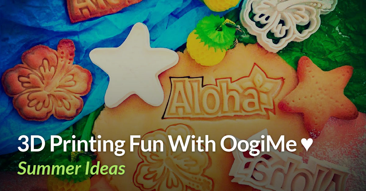 Useful 3D Printed Objects: Cookie Cutters with OogiMe!