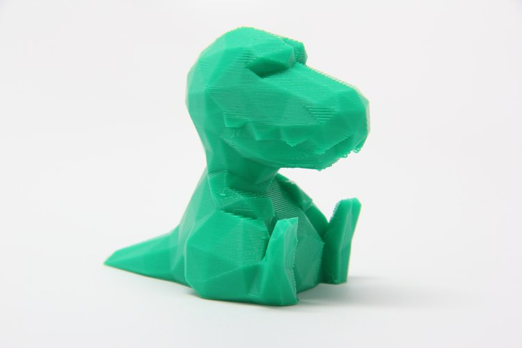 low poly trex pinshape