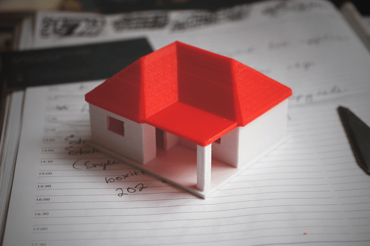3D printing designs Small House Model