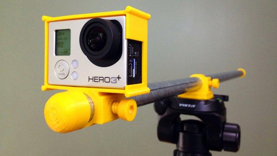 3D printing designs GoPro Gubbinses Pinshape