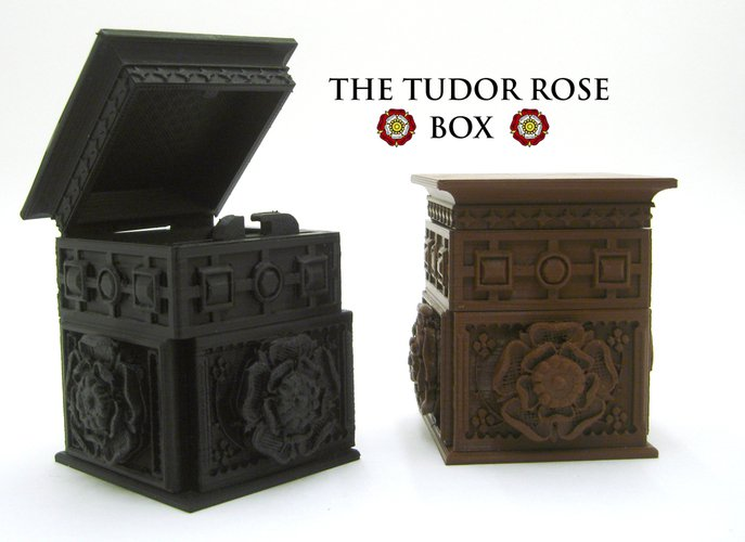 Tudor Rose Secret Lock Box Pinshape