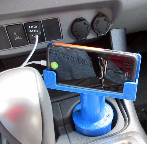 Phone Cup Holder Dock