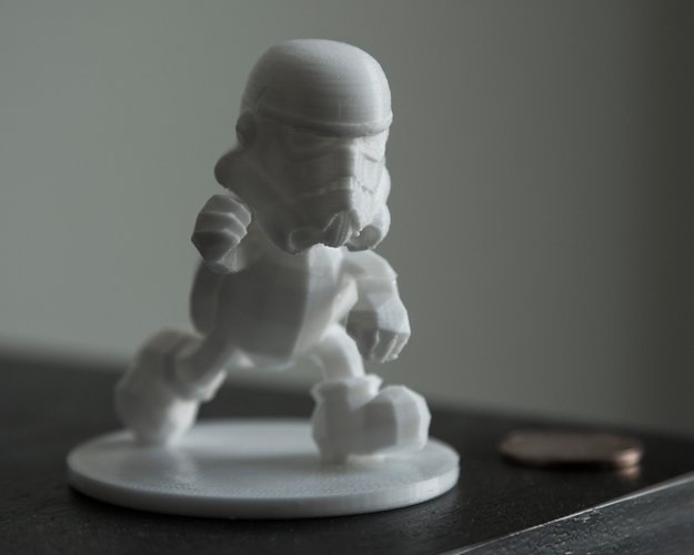 3D printer designs storm trooper