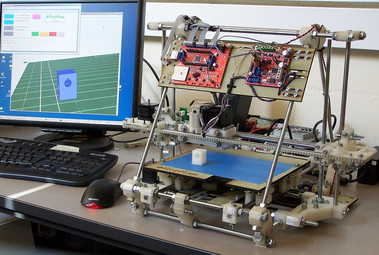 Build your own 3D printer RepRap_v2_Mendel