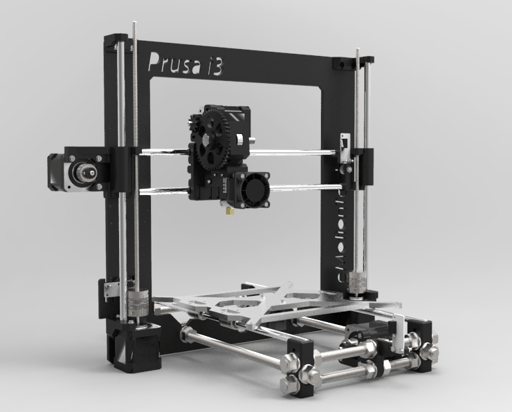 Build your own 3D printer Visuel Prusa i3 Rework