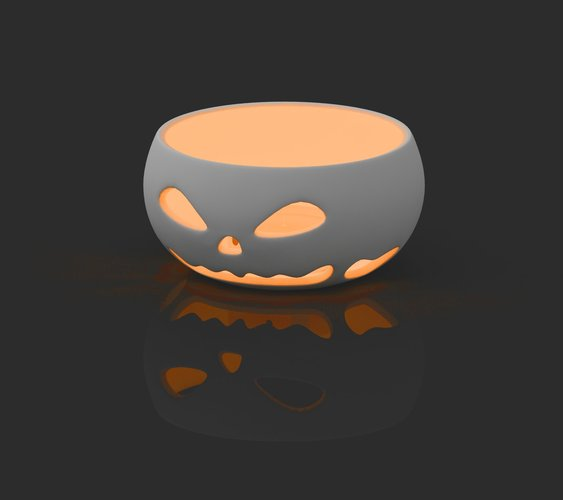 spookiest 3d designs candle holder