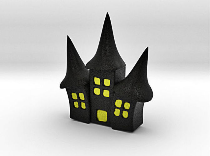 spookiest 3d designs haunted house