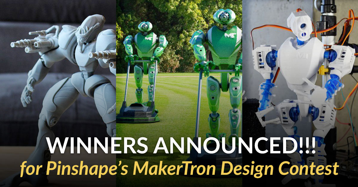 Winners of MakerTron Design Contest Announced!