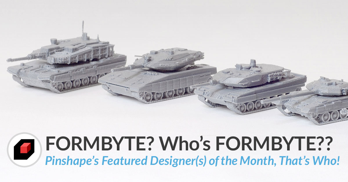 Tips on 3D printing from 3D designer Formbyte [DOTM]!