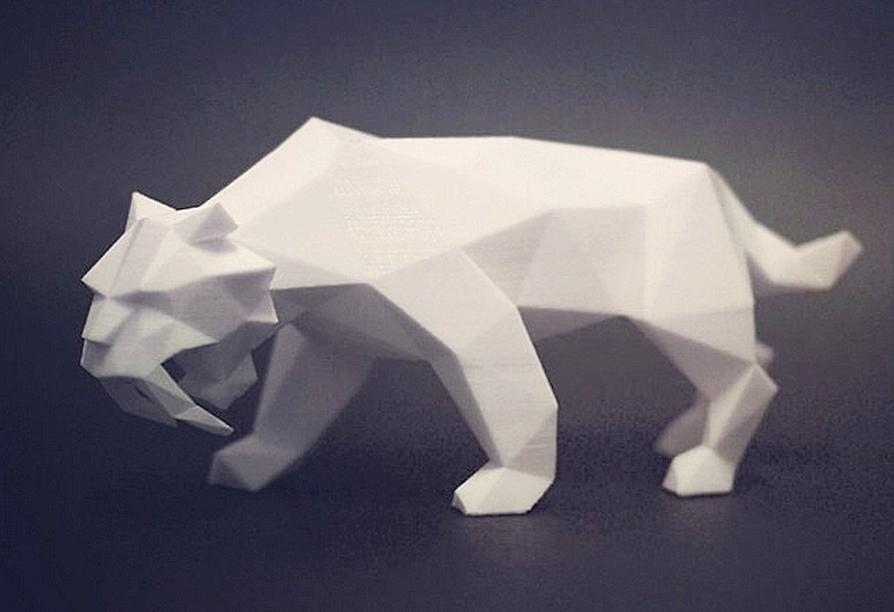 3D designer tiger
