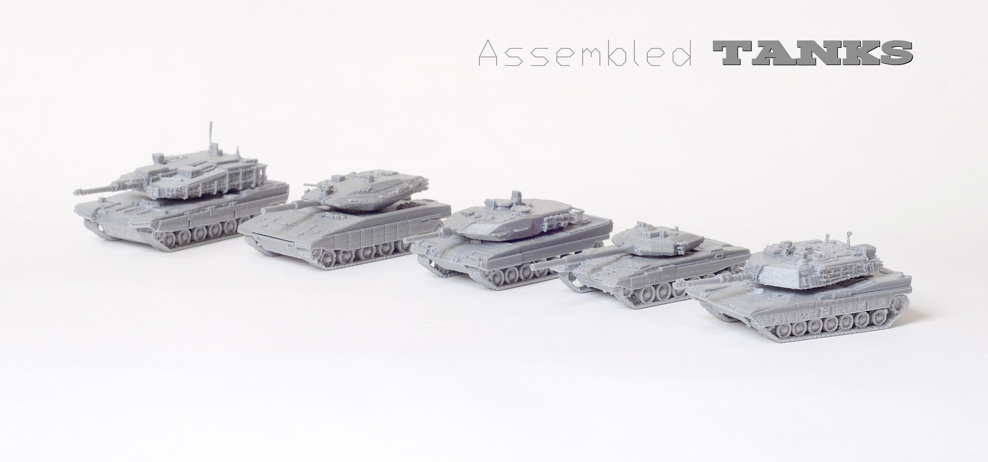 3D designer, tanks