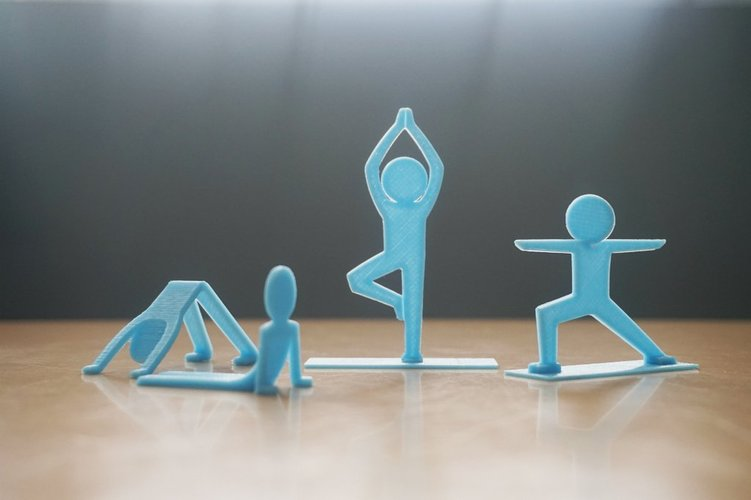 Best 3D designs pinshape yogi people