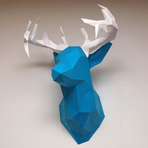 Best 3D designs pinshape deer head