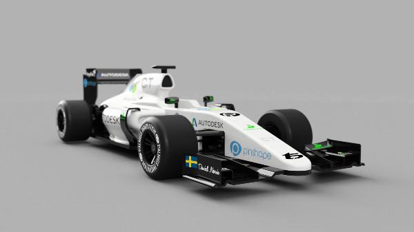 OpenRC F1 3D Printed Car Debuts on Pinshape! |