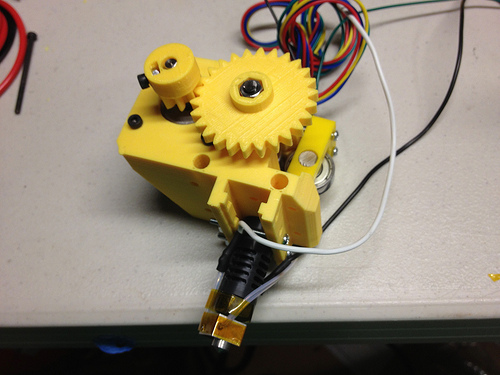 flexible filament direct extruder