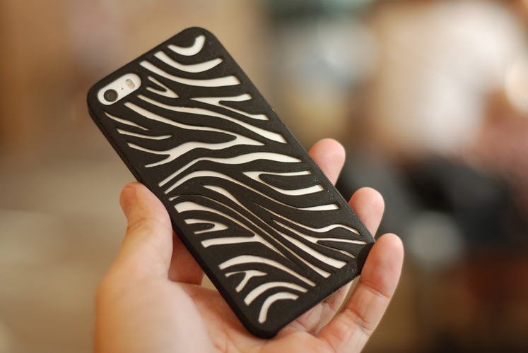 Things to 3D print  zebra case