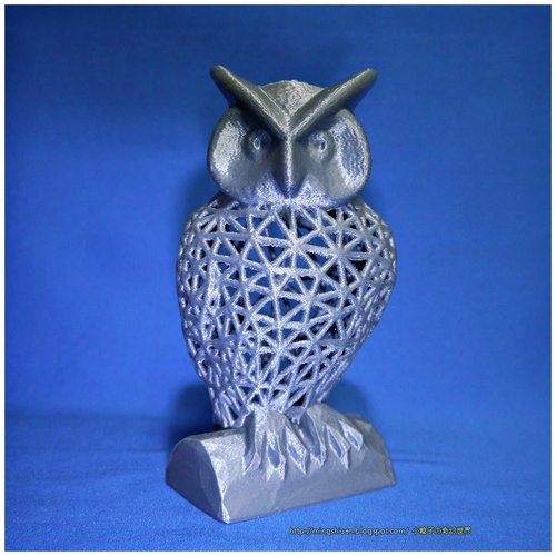Things to 3D print  owl