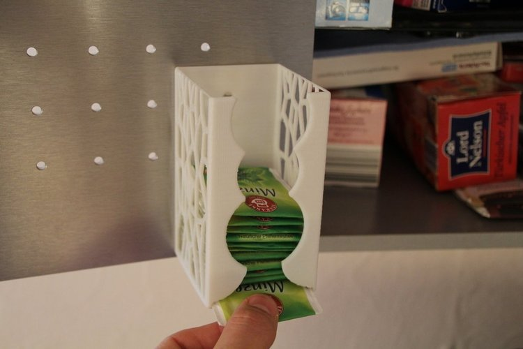 Things to 3D print tea dispenser