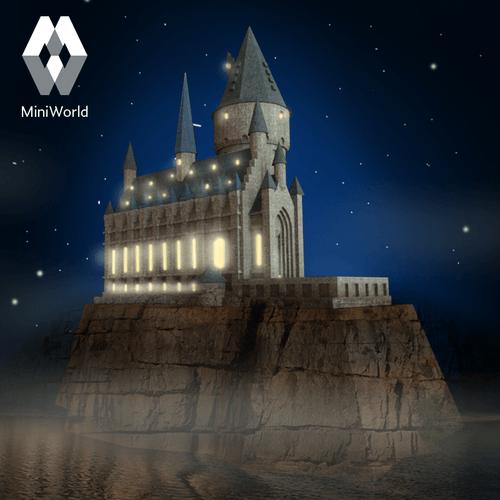 3D printable files hogwarts