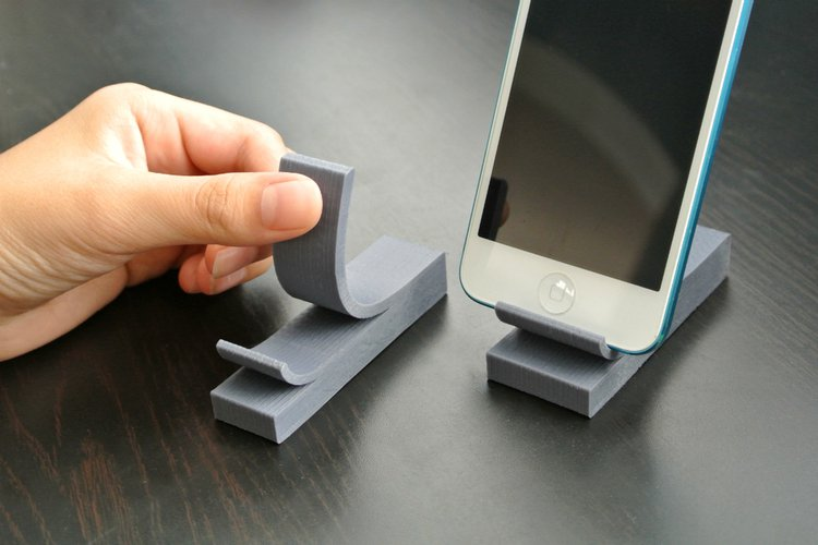 3D printable files phone stand