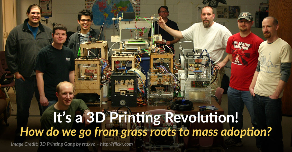 When Will 3D Printing Go Mainstream?