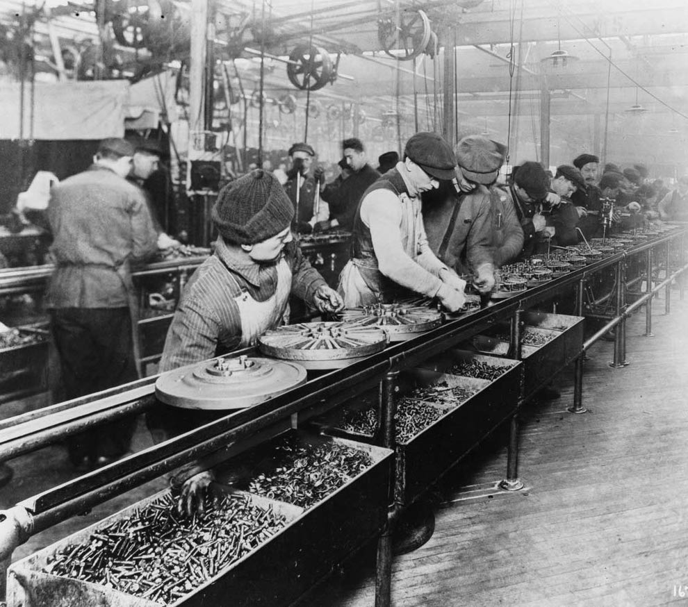 assembly line Third Industrial Revolution