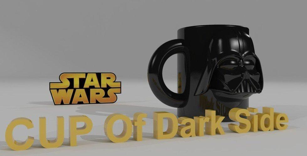 star wars 3d darth vader cup