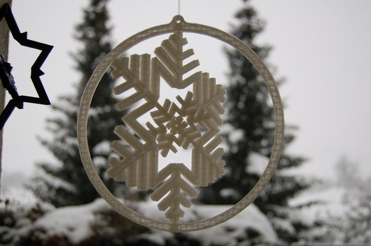 3d christmas design snowflake