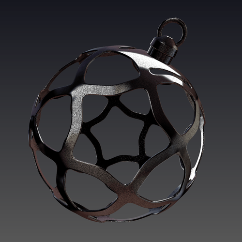 3D printable designs christmas decoration