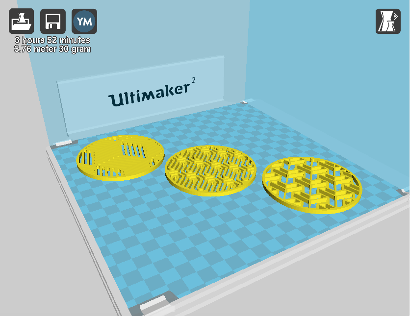 3D Printing Software, cura, 3D Slicer settings