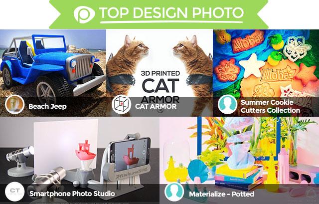 2015 Pinshape Awards top design photo