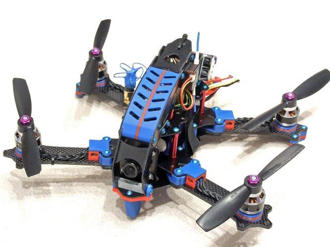 how to build a quadcopter model