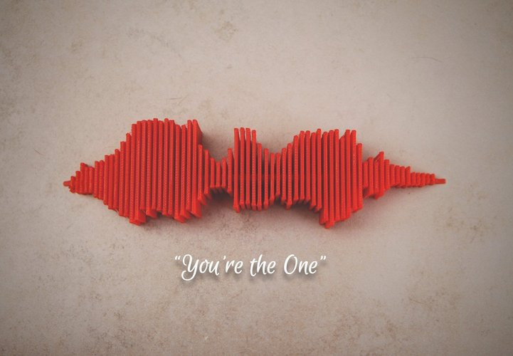 you're the one soundwave jonburgers pinshape 3d designs