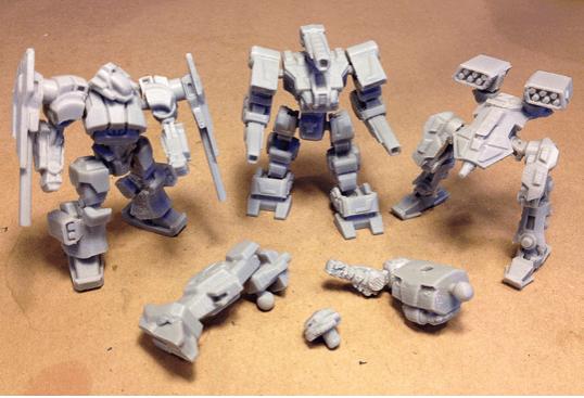 3d robot mechazone robots